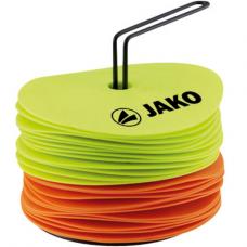 Jako Marking discs neon yellow-neon orange 03