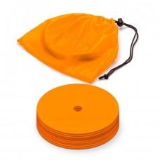 Marking discs ø 15,5 cm Set of 12 orange
