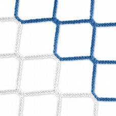 Goal net (blue-white) - 5 x 2 m, 4 mm PP, 80 150 cm