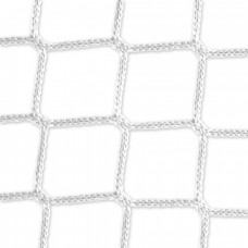 Goal net (white) - 3 x 2 m, 4 mm PP, 80 100 cm