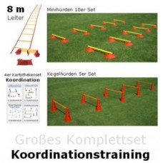 "Big complete set - ""coordination training"""