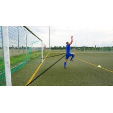 Power bungee belt 9 (short) - Goalkeeper training in 5-meter room