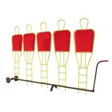 Transport trolley - for freekick wall