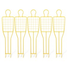 5 free kick training dummy (grid) - height: 180 cm