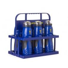 Bottle 2.0 - 750 ml (pro) set of 6 (incl. PVC bottle carrier)