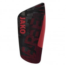 Jako Shin guard Competition light red-black 01