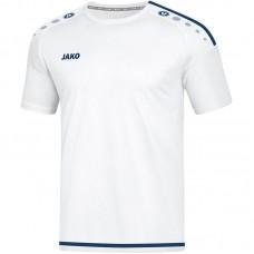 Jako Jersey Striker 2.0 S S white-dark navy Junior 90