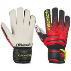 Goalkeeper Gloves Reusch Fit Control RG Open Cuff Junior