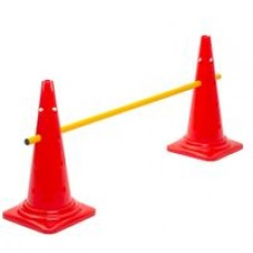 Cone Hurdle Single Hurdle Height 52 cm Red