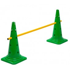 Cone Hurdle Single Hurdle Height 52 cm Green