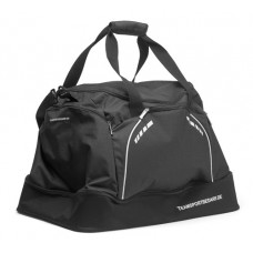 Sports bag with base compartment - Black