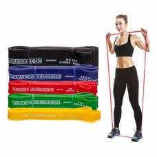 RESISTANCE BAND 208 cm Yellow - 9 – 23 kg