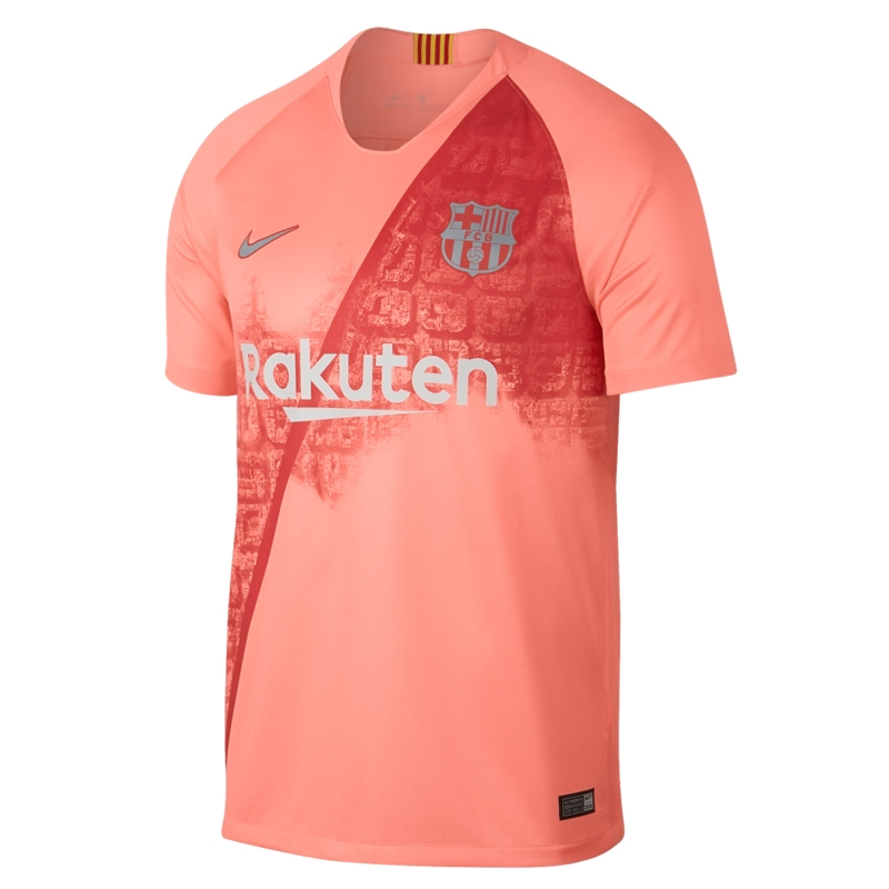 Nike FC Barcelona Breathe Stadium Jersey T-shirt 694